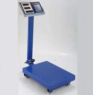 Balança digital comercial 300kg com plataforma e