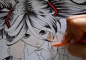 Curso de desenho de anime