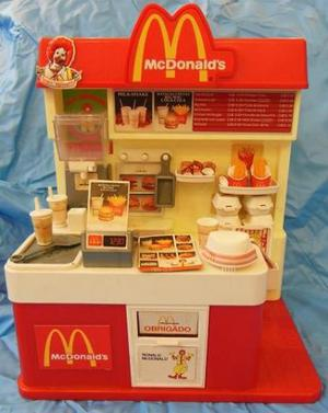 Lanchonete McDonalds Estrela Anos 80