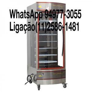 Maquina de Assar Frangos Giratória 70Kg Forno Industrial