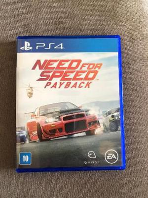 Need For speed Payback PS4 Lançamento