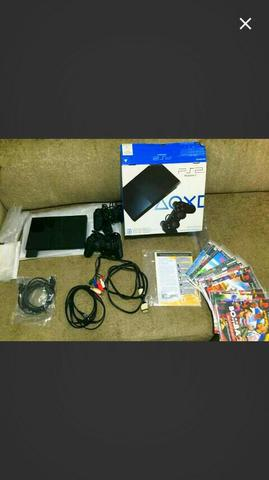 Playstation 2 slim Destravado completo