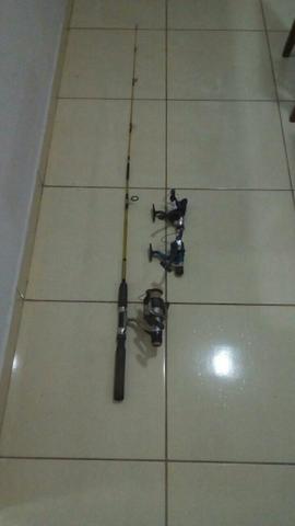 Vara de pesca e Molinetes