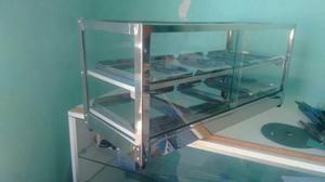 Vendo vitrinas com 3 4 6 8 bandejas de inox