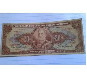 Coins Paper Brasil 20 cruzeiros (twenty)