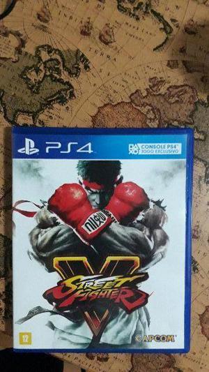 Street Fighter V - PS4 Mídia Física