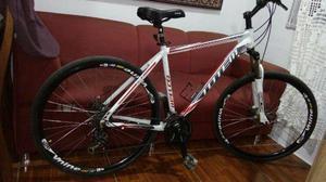Bicicleta Totem aro 29 freio a disco suspensão com