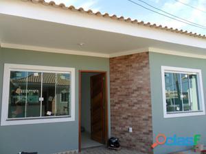 Casa nova em Araruama por apenas R$ 170 mil!