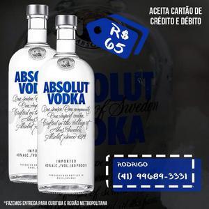 Bebidas importadas - Tequila Ouro, Absolut, Jack Daniels,