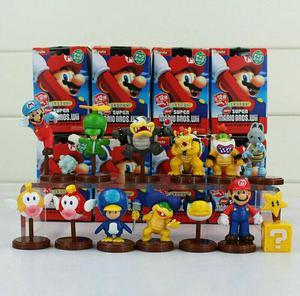 Coleção Super Mario Bros Wii 13 Peças