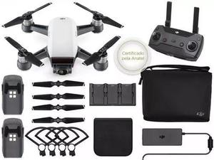 Drone Dji Spark Combo Fly More Branco com Nota Fiscal
