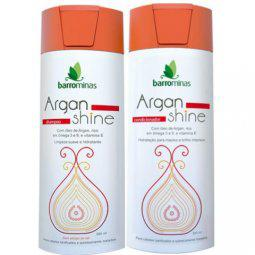 Kit Shampoo E Condicionador Argan Shine Barrominas