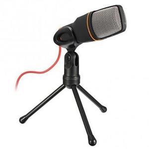Microfone Condensador Com Tripe Para Gravaçao Profissional