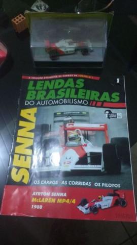 Miniaturas de carros da Fórmula 1