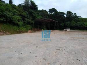 Terreno comercial para locação, Jardim Mimas, Embu das