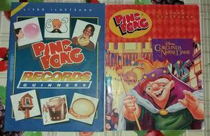 Álbuns Records Guinness e Corcunda de Notre Dame Ping Pong