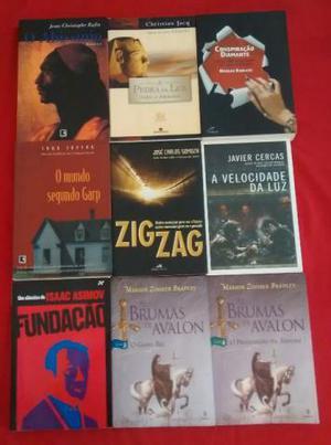 9 Livros Diversos - Literatura Estrangeira