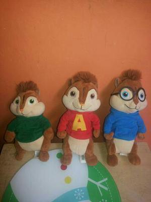 Alvin e os esquilos (pelúcia antialérgica)
