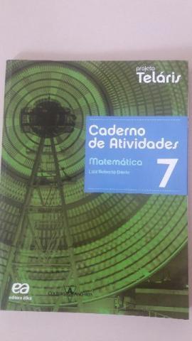 Caderno de atividades Telaris Matemática 7ª série