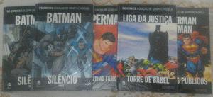 Dc Comics Coleção Graphic Novels - 1 ao 5