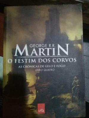 George r.r. martin livro 4 e 5, bom estado