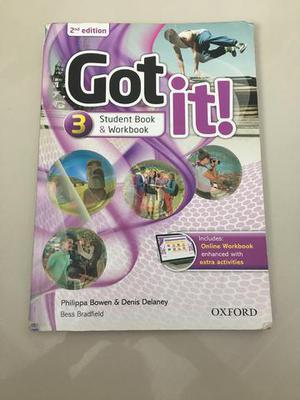 Livro de Inglês- Got It!