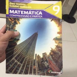 Livro de Matemática 9 - Compreensão e Prática - Moderna