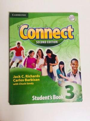 Livro de inglês Connect Second Edition Students Book 3