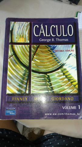 Livros cálculo ensino superior vol 1 e 2