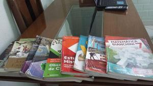 Livros de 6 e 7 ano Ed. Moderna