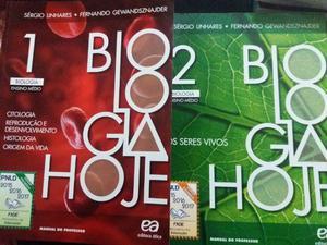 Livros de Biologia 1 e 2 (2ª edição- ) / Em ótimo