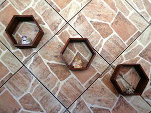 Loucura de Promoção) kit de Nichos Artesanais em Madeira