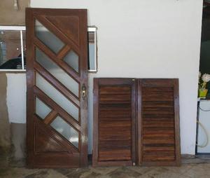 Portas e janelas de sucupira