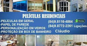 Promoção peliculas residenciais