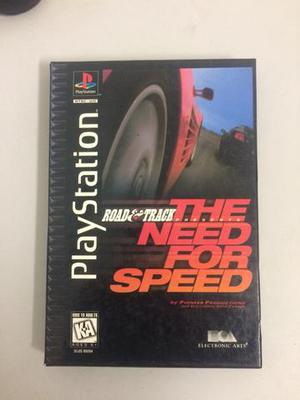 Need for speed long box ps1 original