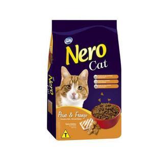 Ração Total Nero Cat Peixe e Frango para Gatos Adultos -