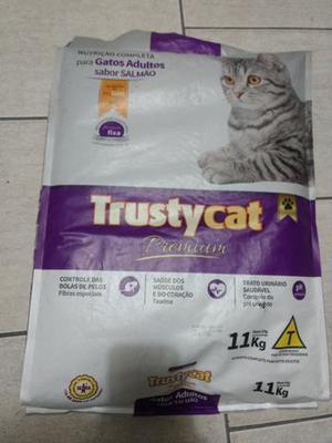 Saco de ração trust cat 11 kg