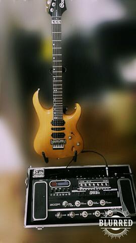 Guitarra Cort viva gld 2 + Zoom G9 2tt
