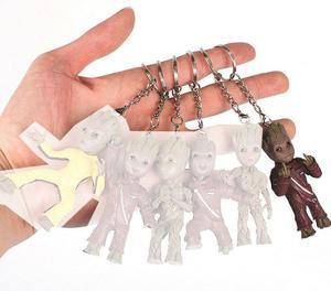 Chaveiro Baby Groot dos Guardiões da Galáxia corrente