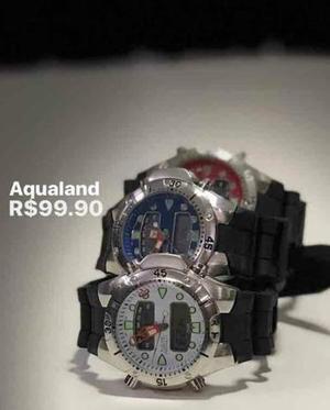 c0c40994e Relógio aqualand super raro | Posot Class