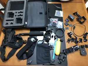 GoPro Hero 5 Black 4K + Kit Dynex Ultimate e Bateria extra
