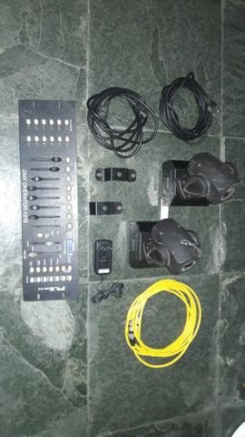 Mini Moving led (Par) Iluminação /dmx
