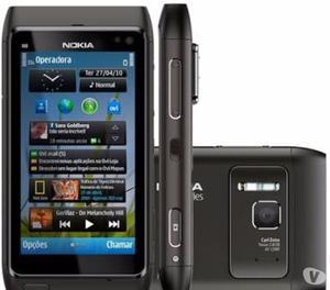 """Nokia N8 """" Novo original """" completo black raridade"""