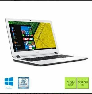 Notebook Acer 500gb HD 15