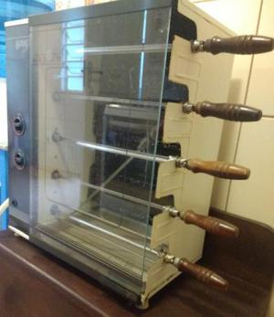 Churrasqueira Arke a gás - 5 espetos rotativo