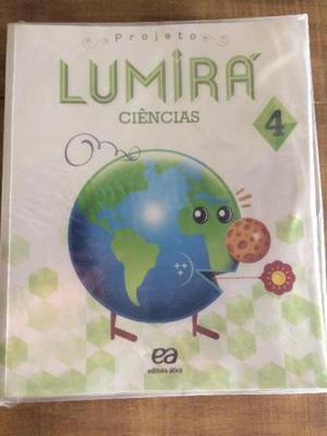 Livro Projeto Lumirá Ciências 4 ano