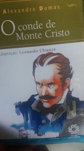 Livro o Conde de Monte Cristo