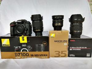 Nikon D Lentes Nikon + Lente Sigma + Acessórios