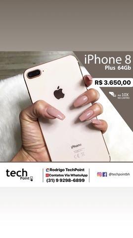 IPhone 8 Plus 64GB e 256GB - Novo/Lacrado - IMPERDÍVEL