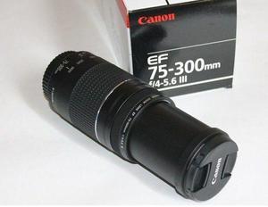 Lente  mm Canon